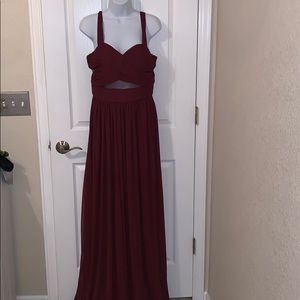 Birdy Grey Elsye Dress in Cabernet